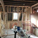 Building the upper floor