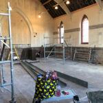Interior shot of the church at Skidby