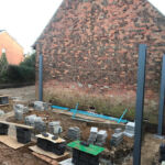 Laying the foundations of the conservatory