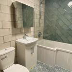 Modern en suite bathroom as part of our property management service in Hull