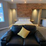 Luxury bedroom in our Hull property rental